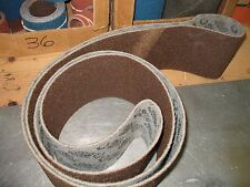 "1 pc. 6 x 132"" 3M Coarse Brown Surface Conditioning Belt for satin finishing"