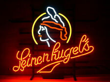"New Leinenkugel's Wisconsin Neon Light Sign 17""x14"" Beer Cave Bar Lamp Artwork"
