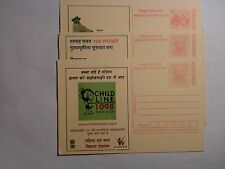 "- INDIA -  5  ""MEGHDOOT""  POST CARDS - BRIGHTLY COLORED"