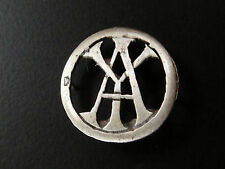 MONOGRAMMES ARGENT MASSIF YA AY INITIALE CHIFFRE SOLID SILVER MONOGRAMS ART DECO