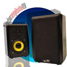 PAAR Regallautsprecher Dynavox TG1000B SCHWARZ Boxen Regalboxen Set 50Watt 8 Ohm