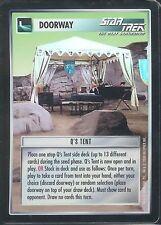Star Trek CCG Q's Tent 1E Foil Tournament Promo