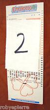 Scontrino biglietto matrice di giocata super ENALOTTO 8 numeri 28 combinazioni 2
