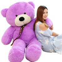 63'' Giant Big Huge Teddy Bear Stuffed Soft Plush Toys Doll Gift+Ems Shipping