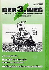 """47 Zeitschriften """"Der 3. Weg"""" bzw. """"Der dritte Weg"""" 2/1997 bis 6/7 2001 o. 12/97"""