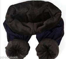 Damen Leggins Leggings Jeggings Gefüttert Jeans Muster Stretchhose Warm M9904
