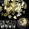 3D Gold Decal Stickers DIY Nail Tips Stamping Manicure Stickers Art Decor New