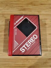 Vtg Nippon Stereo Cassette Player Red In Working Condition Rare Walkman
