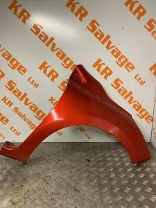 2013-2019 RENAULT CLIO MK4 DRIVER OFF SIDE FRONT WING FENDER RED TENNP