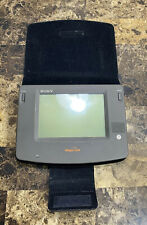 Sony PIC-1000 Magic Link Personal Intelligent Communicator With Case