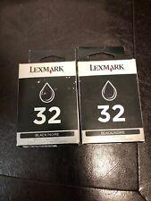 New Genuine 32 Lexmark Ink Cartridge Box X Series X8350 X7350 Z Series Z810 Z812