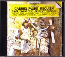 GIULINI: FAURE Requiem RAVEL Pavane Defuntem CD Andreas SCHMIDT Kathleen BATTLE