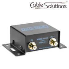 Jensen Transformers VB-1RR ISO-MAX Composite Video Isolator w/RCA Connectors
