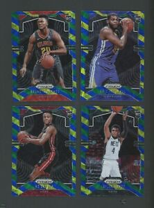 Investor Lot of (4) 2019-20 Panini Choice Blue Yellow Green Prizm RC Rookie