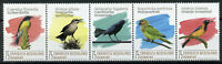 Bonaire Caribbean Netherlands Birds on Stamps 2020 MNH Parrots Troupial 5v Strip