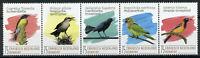 Bonaire Caribbean Netherlands Birds on Stamps 2020 MNH Parrots Troupial 5v Strip