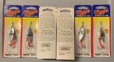 6 Packs Mepps AL2 S/RS Aglia Long 1/4oz Size 2 Silver