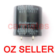 HotCapacitor 100uf 450V 105°C 25X25mm for Sony LCD Monitor Screen Repair Rubycon