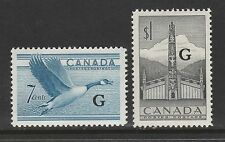 CANADA #O31-O32 MH - Official Stamps