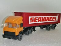 """Wiking ( 523/21 ) - Iveco Container - Sattelzug """" Seawheel """""""
