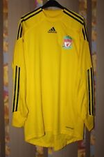 LIVERPOOL 2009 2010 GOALKEEPER ADIDAS FORMOTION PLAYER ISSUE SHIRT JERSEY SIZE S