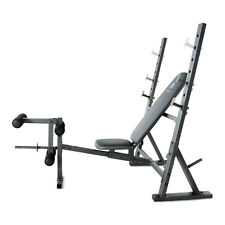 Gold's Gym XR 10.1 Olympic Weight Bench Press, Leg Developer Chest Arms Workout