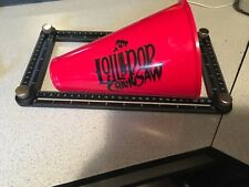 Lollipop Chainsaw Megaphone RARE! Limited Edition Exclusive Sony xbox zombie
