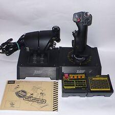 Saitek Pro Flight X-65F Combat Control System Discontinued Rare