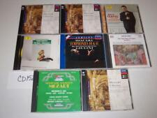 Mozart Classical Music Requiem Symphonies String Quartets Lot 8 CD -0717CD152