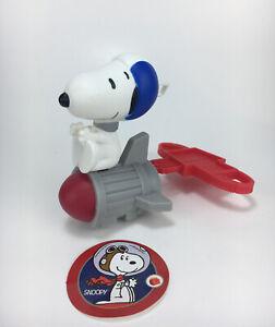 McDonald's Peanuts Snoopy Happy Meal Toys Rocket Astronaut Snoopy Toy Figure