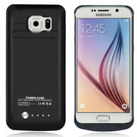 F Samsung Galaxy S6 SM-G920T 4200mAh Extended Rechargeable Charging Battery Case