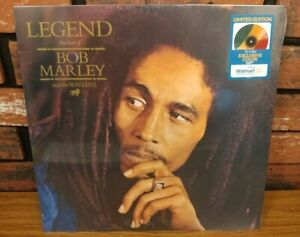 LEGEND Best Of BOB MARLEY and WAILERS - Sealed Tri-Color Vinyl LP Exclusive