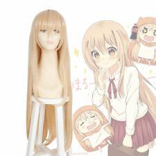Himouto! Umaru-chan Doma Umaru Bangs Blonde Long Straight Cosplay Party Hair Wig