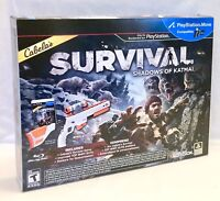 PS3 Cabela's Survival Shadows of Katmai Activision Top Shot Elite Gun USB Sensor