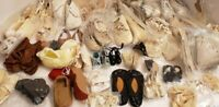 Vtg Doll Shoes$2+Each For Antique German French Bisque  50Prs,Baby Shoes Dolshoe