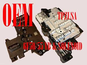 Rebuilt 6F50 Solenoid Pack & Valve Body FORD/LINCOLN/MERCURY FORD TAURUS