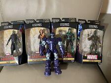marvel legends kree sentry baf complete with 4 Captain  Marvel figure lot