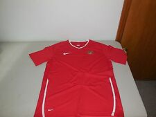 Nike Indonesia Soccer Jersey Athletic Team Shirt Red Training Mens Medium M