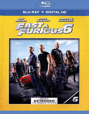 Fast Furious 6 (Blu-ray Disc, 2015, UltraViolet) Blu-ray Only No Dvd Free Ship