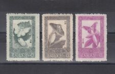 TIMBRE STAMP  3  COREE Y&T#624-26 PAPILLON BUTTERFLY NEUF**/MNH-MINT 1965  ~R14