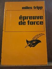 Miles Trioo: épreuve de force /Le Masque N°1623 Champs-Elysées