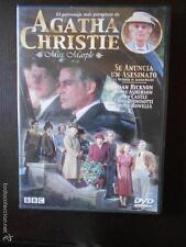DVD AGATHA CHRISTIE - MISS MARPLE - SE ANUNCIA UN ASESINATO - COMO NUEVA