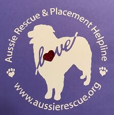 "Aussie Rescue License plate frame /""Haulin/' Aussies/"" with pawprints /& Aussies"
