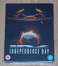 Independence Day - Steelbook - blu-ray. New and sealed, UK release.