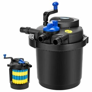 1600 Gal Pressurized Bio Pond Filter 13W UV Sterilizer - USED
