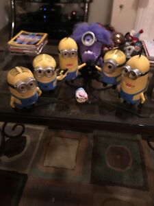 Minion Action Figures Package Palooza, Set Of 7 Sold Together For A Low Price!