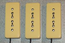 New P-90 soapbar style single coil pickups (3) for electric guitar Pete Biltoft