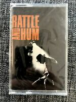 U2 Rattle And Hum 1988 Musicassetta Nuova Sigillata Island Records ‎– U2K 77