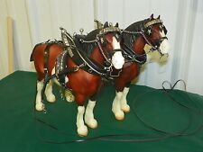 BREYER Team #775 Northumberland Flowergirl Clydesdale Mare Horse Harness Tack