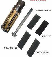 Engine Cylinder Hone Kit 45 To 65 Mm Honing Machine + Honing Stones@JDW